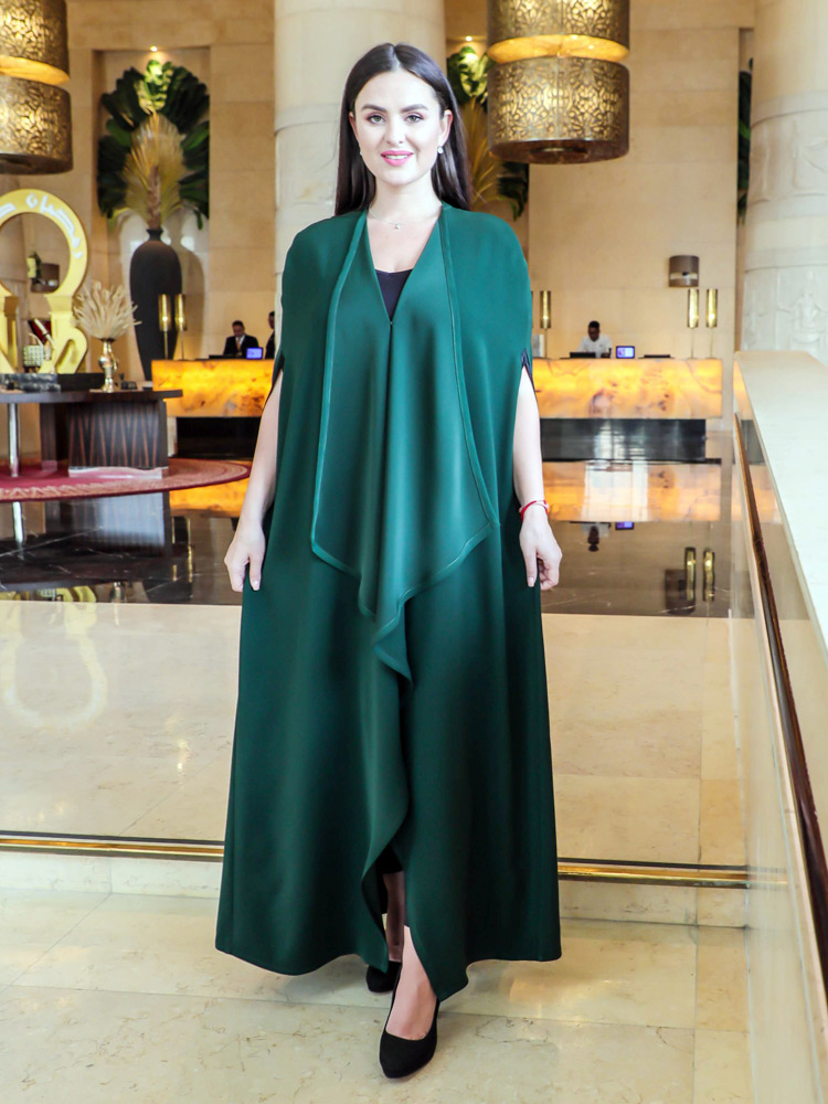 Green Exclusive Abaya